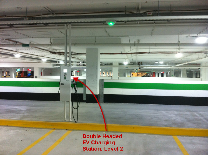 Schneider-Electric Charging Station Level 2 (Dual Service)